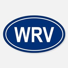 WRV Oval Decal