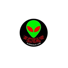 Abducted By Aliens/Logo Mini Button (10 pack)