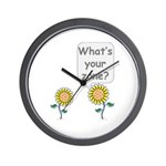 What's your zone? Wall Clock