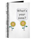 What's your zone? Journal