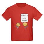 What's your zone? Kids Dark T-Shirt