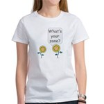 What's your zone? Women's T-Shirt