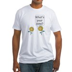 What's your zone? Fitted T-Shirt