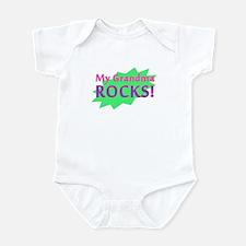 My Grandma Rocks Infant Bodysuit