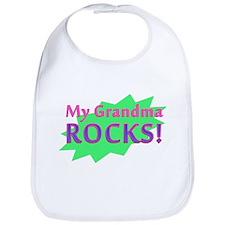 My Grandma Rocks Bib
