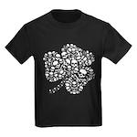 Shamrock Skull St Patricks Day Kids Dark T-Shirt