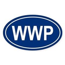 WWP Oval Bumper Stickers