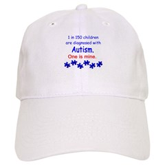 1 in 150 children Baseball Cap