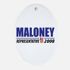 Maloney 2008 Oval Ornament