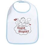 Anti-Valentine's Day Stupid Cupid Bib