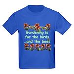 Gardening is for the birds Kids Dark T-Shirt