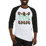Gardening is for the birds Baseball Jersey