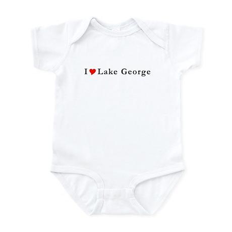 I Heart Lake George NY Infant Bodysuit