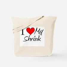 I Heart My Shrink Tote Bag
