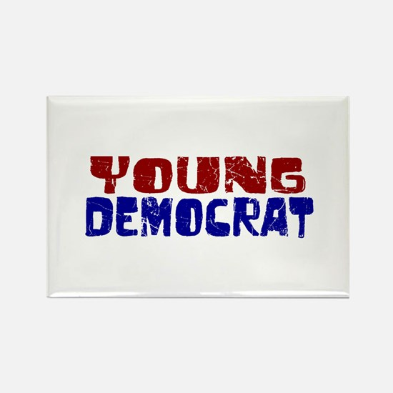 Young Democrat Rectangle Magnet