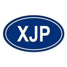 XJP Oval Decal