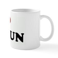 I Love CANCUN Mug