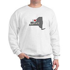 I Heart Buffalo NY T-shirts Sweatshirt