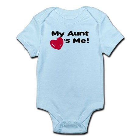 Aunt loves me Infant Bodysuit