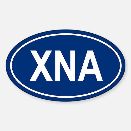 XNA Oval Decal