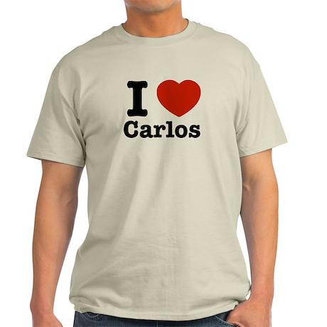 I love Carlos Light T-Shirt