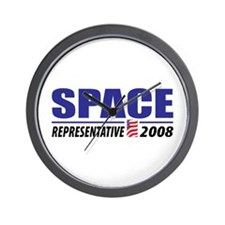 Space 2008 Wall Clock