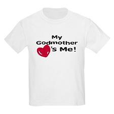 Godmother loves me T-Shirt
