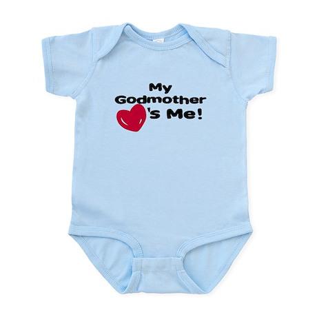 Godmother loves me Infant Bodysuit