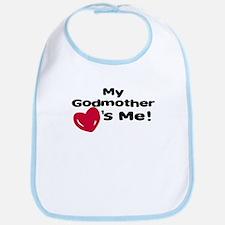 Godmother loves me Bib