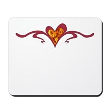 Heart of Fire Mousepad