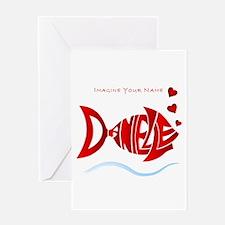 Love Danielle Greeting Card