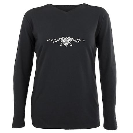 RP <3 Women's Long Sleeve Dark T-Shirt