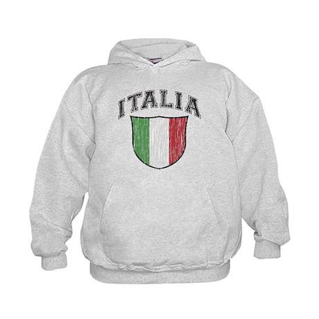 ITALIA (light colored product Kids Hoodie