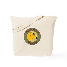 Gelber Hund Tote Bag