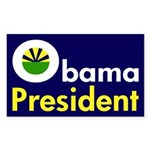 Obama: President (Bumper Sticker)