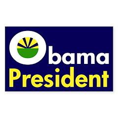 Obama: President (Bumper Sticker)