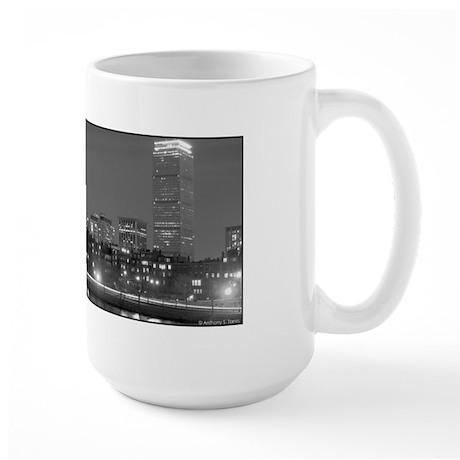 Boston Skyline at Night- Large Mug