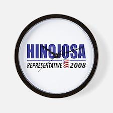Hinojosa 2008 Wall Clock