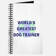 World's Greatest Dog Trainer Journal