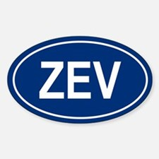 ZEV Oval Decal