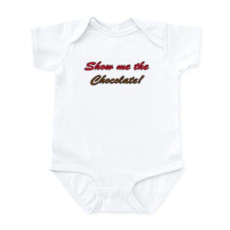 Chocolate Show Me - Infant Bodysuit