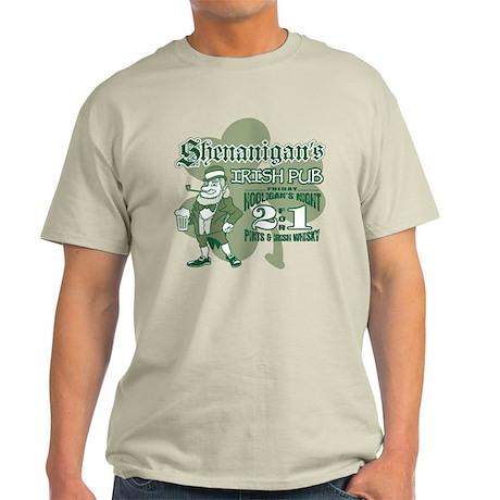 Shenanigan's Irish Pub (light Light T-Shirt