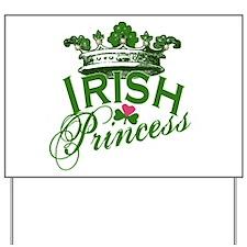Irish Princess Tiara Yard Sign