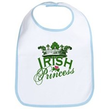 Irish Princess Tiara Bib