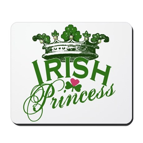 Irish Princess Tiara Mousepad