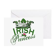 Irish Princess Tiara Greeting Card