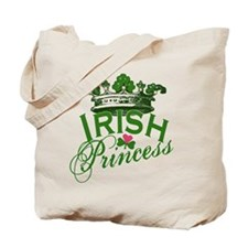 Irish Princess Tiara Tote Bag