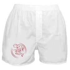 Red Chinese Dragon Boxer Shorts