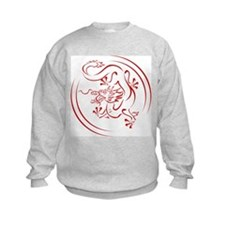 Red Chinese Dragon Sweatshirt