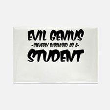 """""""Evil Genius cleverly disguised as a Student"""" Rect"""